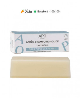 Après-shampoing solide
