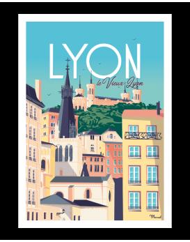 LYON. Le vieux Lyon