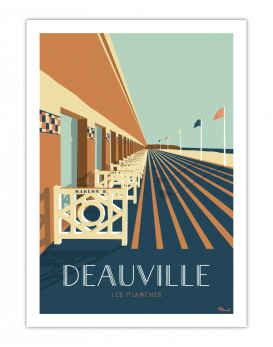 Deauville. Les planches
