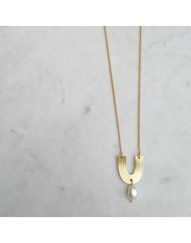 Collier Arche perle