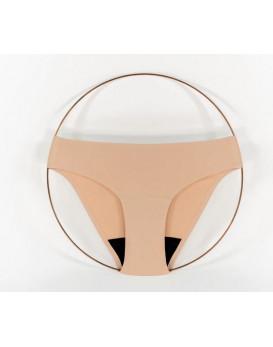 Culotte menstruelle beige
