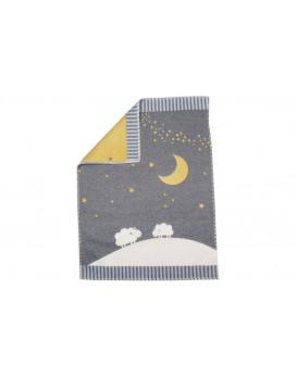 Plaid Lune et Moutons