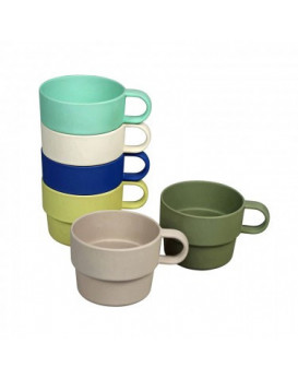 Lot de 6 tasses Stack the...