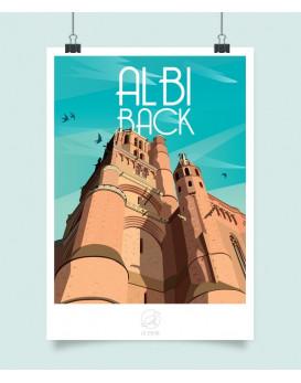 Affiche Albi back