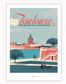Toulouse Quai de la Daurade