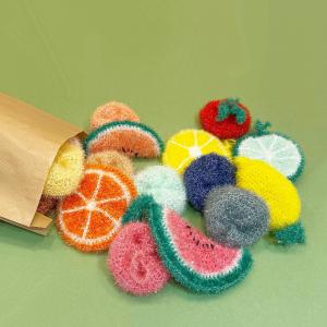 Les éponges vaisselle tricotées par Lydie sont de retour!  Elles sont légèrement grattantes( mais sans rayer!) et imputrescibles grâce aux fibres en bouteilles plastique recyclées.  #epongevaisselle #upcycling #epongelavable #madeintoulouse
