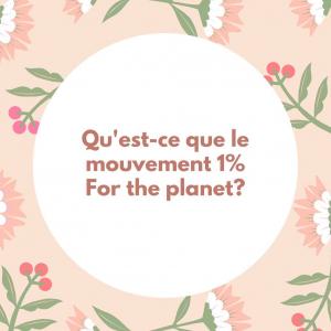 |En savoir plus| Vous avez sûrement déjà vu le logo bleu d'une planète avec écrit 1% dessus. Cela veut dire que la marque reverse 1% de son chiffre d'affaires à ce collectif. Nous travaillons avec de nombreuses marques/entreprises partenaires de ce collectif.   En 2020, c'est plus de 600 000€ ont été reversés et 32 projets soutenus. Les projets concernent 7 grandes catégories menées par des associations et fondations:  -Biodiversité et écosystèmes -Santé et environnement  -Mouvements éco-citoyens  -Pédagogie, activités au contact de la nature -Climat et énergie  -Rivières et océans -Agriculture et alimentation  Les projets 2020 en détails ici👉  https://www.onepercentfortheplanet.fr/les-projets-2/  #1percentfortheplanet #association #environnement #ecologie