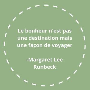 |Citation| Vous connaissez Margaret Lee Runbeck? On trouve peu d'infos sur sa vie mais cette citation résume bien sa philosophie. Écrivaine américaine publiée dès l'âge de 13 ans sous un pseudonyme car ses parents n'étaient pas au courant, elle était aussi institutrice passionnée par l'Inde où elle effectua plusieurs missions dans les années 30 et 40.   #citation #motivationalquotes #selfcare #soindesoi #bonheur❤️