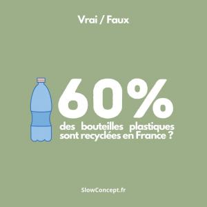 | Vrai ✅ / Faux ❎| Allez on fait un quiz 👉 En France, seulement 60% de toutes les bouteilles plastiques sont recyclées ... D'après vous : c'est vrai ou faux ? Et puis, on répondra aussi à cette fameuse question : faut-il ou non écraser la bouteille en question avant de la jeter ?  . . .  #ethique #toulouse #toulouseethique #shoplocal #shoplocaltoulouse #maison #deco #beauté #naturel #upcycling #surcyclage #zerodechet #recup